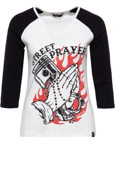 3/4-Sleeve Shirt »Street Prayer« - Bild