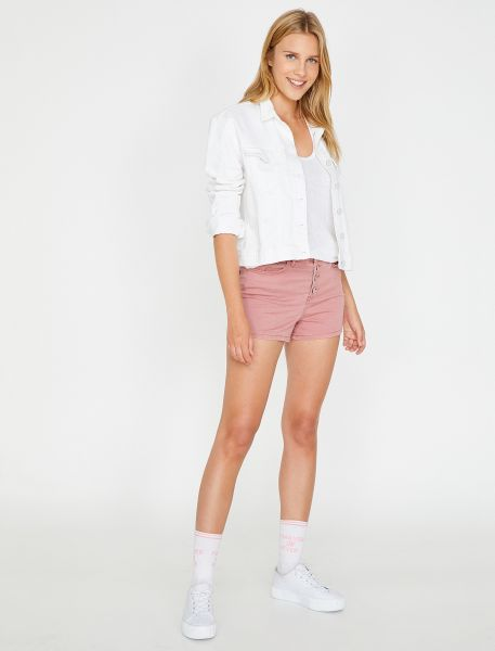 KOTON Jeansshorts im 5-Pocket-Look