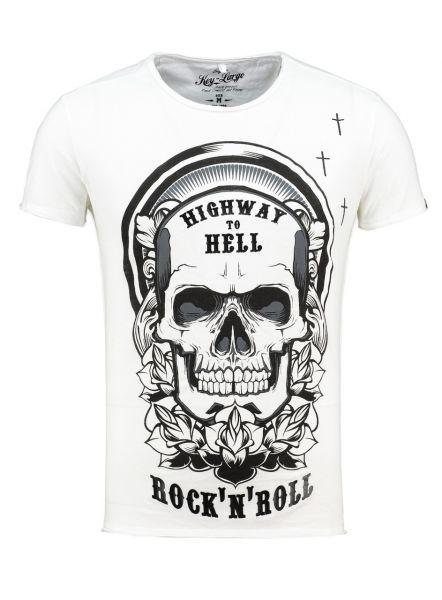 KEY LARGO Herren T-Shirt MT CRUSH round