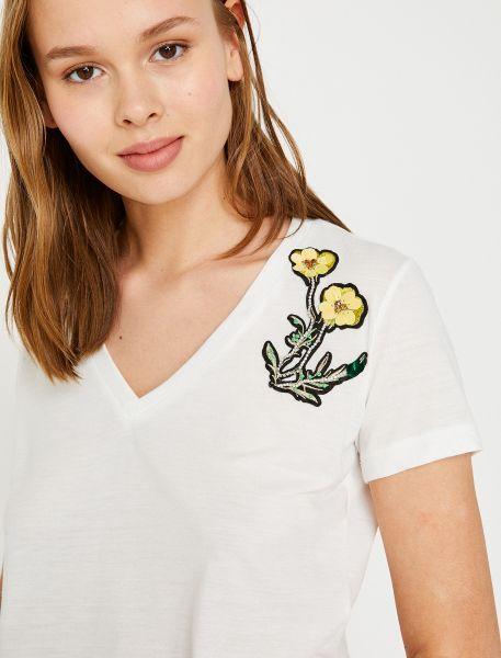 KOTON T-Shirt mit Schulterpatch