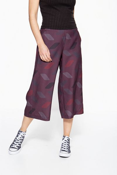 MEXX Culottes mit abstraktem Muster