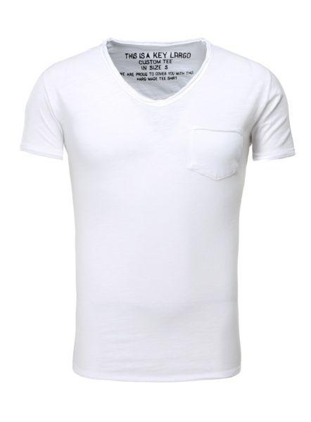 KEY LARGO Herren T-Shirt MT WATER v-neck
