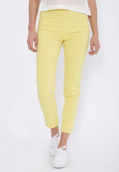 MEXX Schmale Stretch-Hose mit seitlichem Reißverschluss