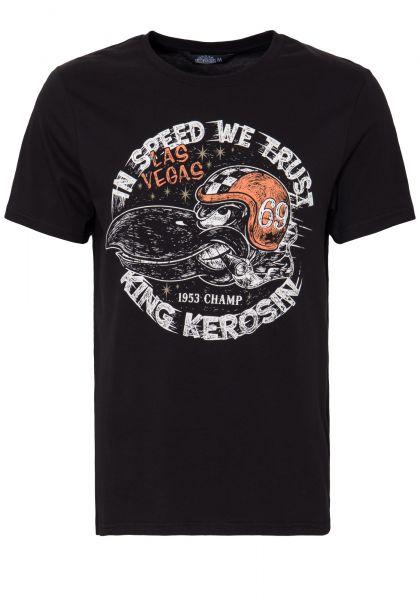 KING KEROSIN T-Shirt mit Front Print »In Speed we trust« In Speed we trust