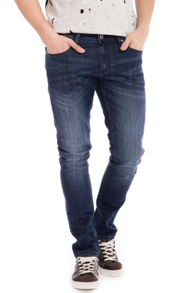 WAY OF GLORY  5 pocket Jeans - Justin - slim fit mit Sitzfalten Justin