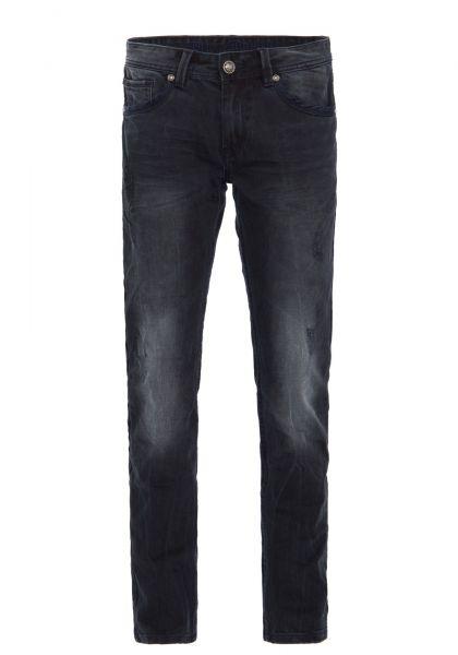 BLUE MONKEY Slim Fit Jeanshose mit dunkler Waschung und Abrieb Effekt, Slim Fit » Max 2210 « Max 221