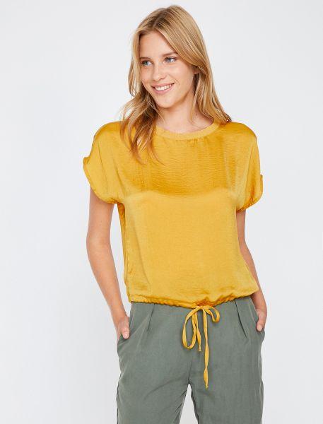 KOTON T-Shirt mit Tunnelzug im Saum