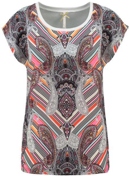 KEY LARGO Damen T-Shirt WT PAISLEY round