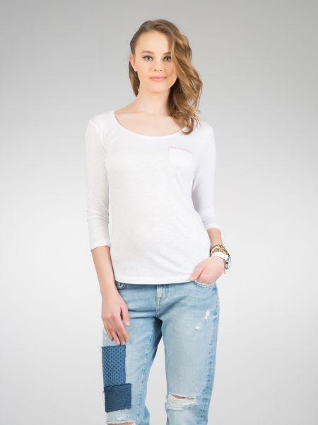 COLINS 3/4 Arm Shirt mit bedruckter Brusttasche