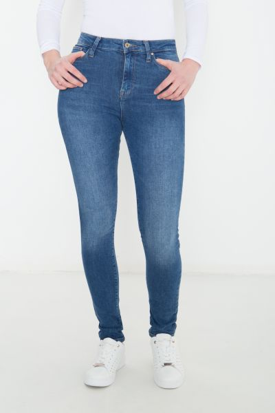 COLINS Skinny Jeans Diana High Rise in cleaner Waschung Diana