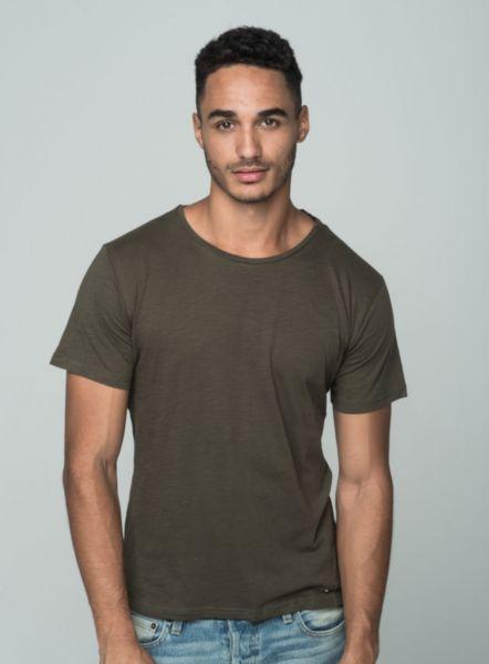 KEY LARGO Herren T-Shirt MT MILK round