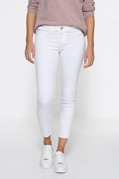 ATT JEANS Slim Fit Jeans mit offenen Saumkanten Leoni