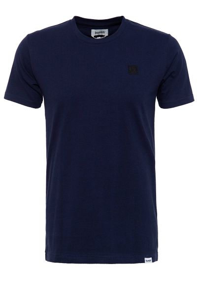 BUNTH Basic T-Shirt aus reiner Baumwolle