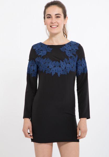 MEXX Schmales Kleid mit Spitzen Applikation