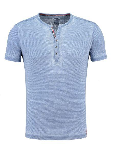 KEY LARGO Herren T-Shirt MT DIETER button