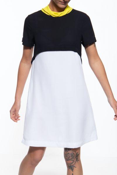Leichtes Sommerkleid mit gerader Schnittform