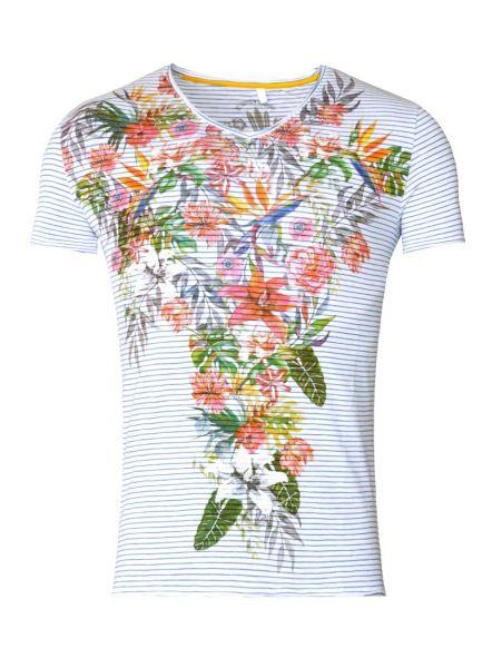 KEY LARGO Herren T-Shirt MT BORA BORA v-neck Farbe  Größe