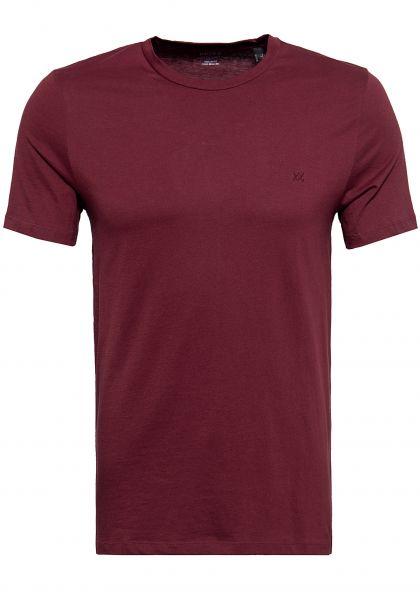 MEXX Basic T-Shirt mit Rundhalsausschnitt