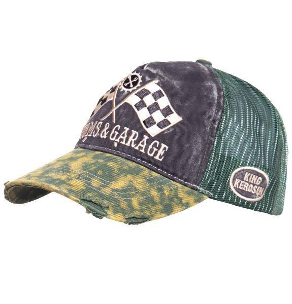 KING KEROSIN Trucker Cap im Used-Look Kustoms & Garage