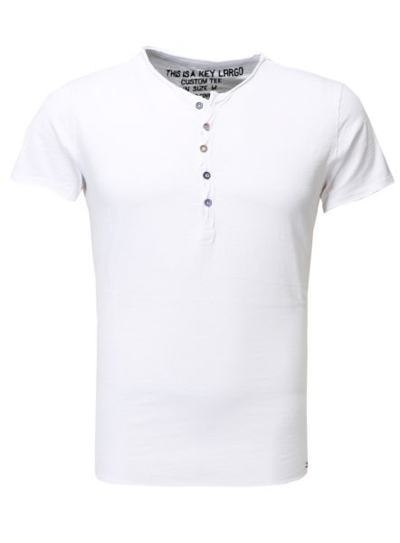 KEY LARGO Herren T-Shirt MT LEMONADE button