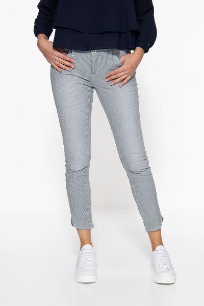 ATT JEANS Slim Fit Jeans mit feinen Längsstreifen Leoni