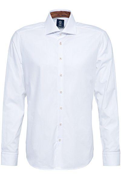 GABANO Langarmhemd mit feinem Strukturmuster