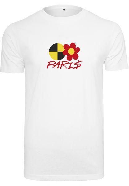 Paris AP Tee white L