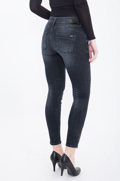 ATT JEANS Slim Fit Jeans mit Reißverschlüssen am Saum Carron
