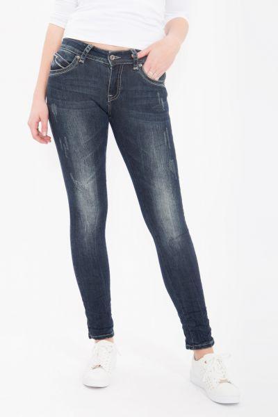 BLUE MONKEY Skinny Jeans Laura 1630 Laura 1630