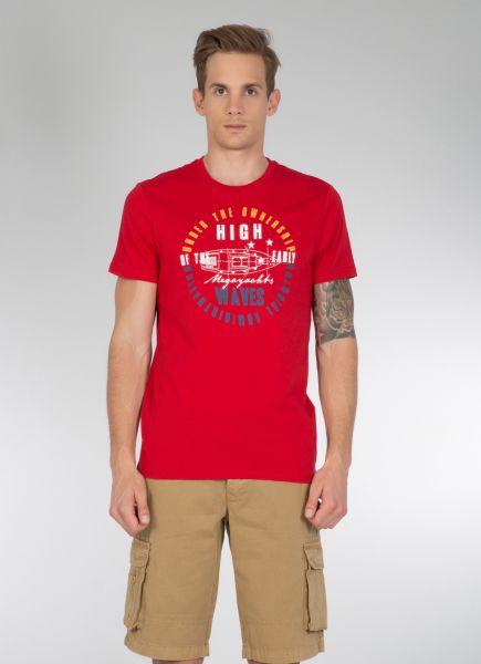 COLINS T-Shirt mit modischem Druck