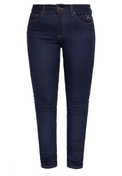 High Waist Slim Fit Jeans im 5-Pocket-Design »Betty«