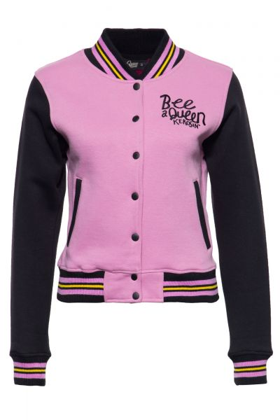College Sweatjacke »Bee a Queen«