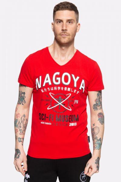 T-Shirt mit Frontprint »City Code«