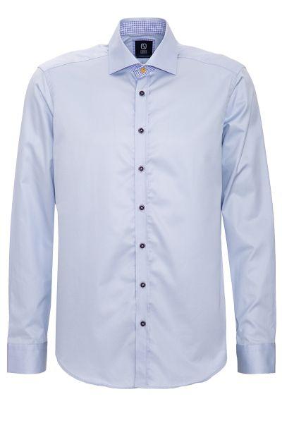 GABANO Langarmhemd mit Kontrastbesatz