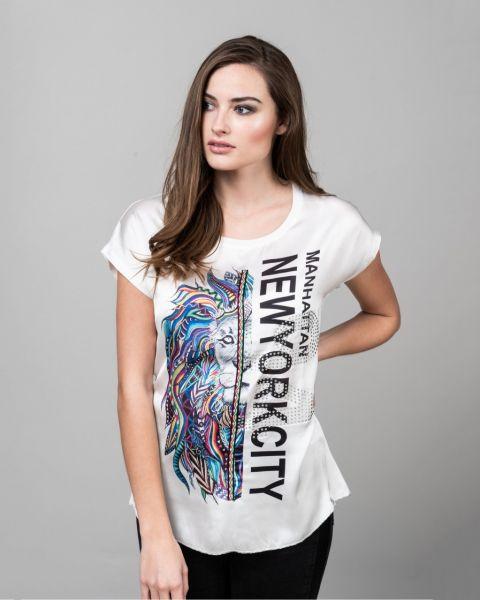 KEY LARGO Damen T-Shirt WT ART round