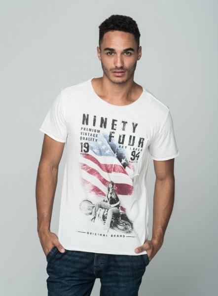 KEY LARGO Herren T-Shirt MT CASE round