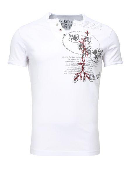 KEY LARGO Herren T-Shirt T WEAPON button