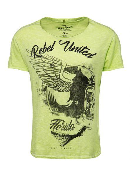 Key Largo Herren T-Shirt MT REBELS UNITED round