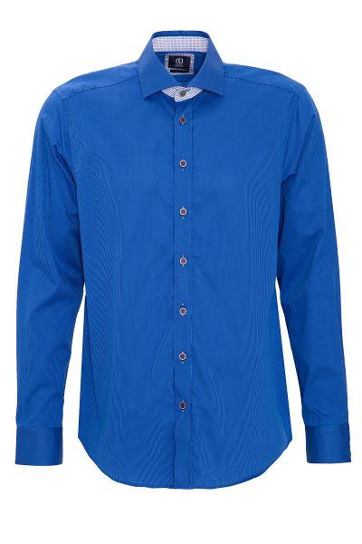 GABANO Langarmhemd mit feinen Streifen