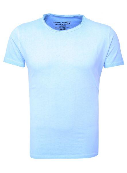AKITO TANAKA Basic T-Shirt in cooler Oil Waschung