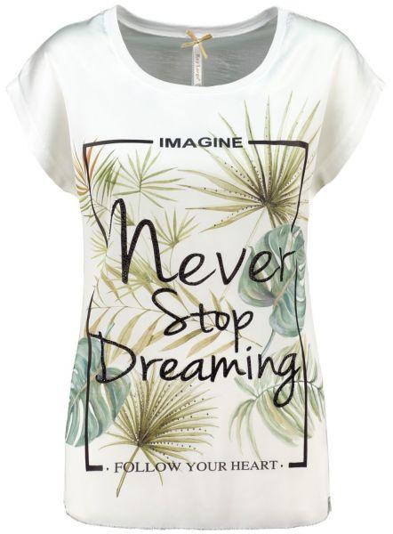 KEY LARGO Damen T-Shirt WT PLANT round
