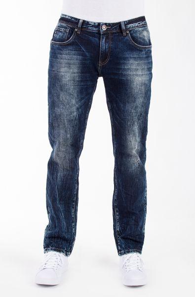 BLUE MONKEY Slim Fit Jeans mit Crinkle Effekten Buck 2111 Buck 2111