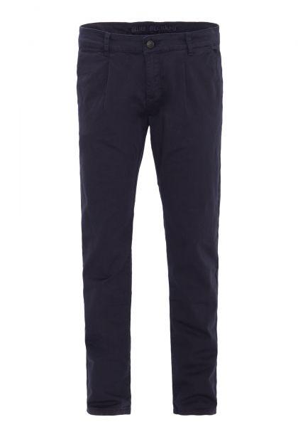 BLUE MONKEY Slim Fit Hose mit Bundfalten und Paspeltaschen hinten Joe 4437