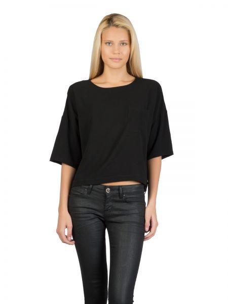 COLINS Blusenshirt in kastiger Form mit Brusttasche