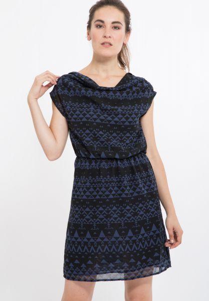 MEXX Kleid bedruckt mit Taillenbetonung