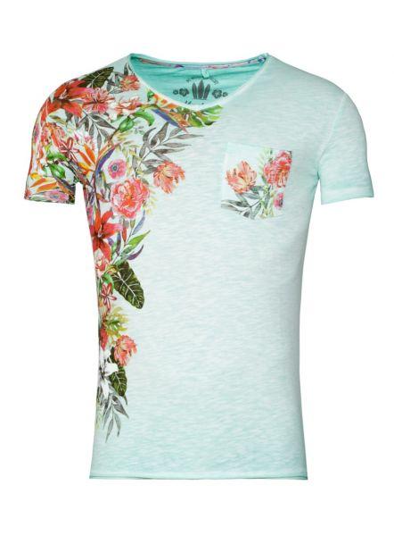 KEY LARGO Herren T-Shirt MT BABYLON v-neck