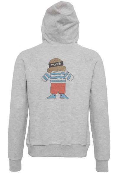 BUNTH Hoodie mit Printfigur im Rücken
