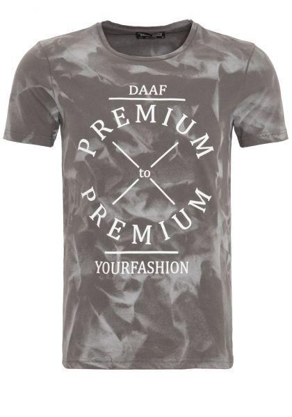 DANIEL DAAF Shirt mit Alloverdruck und Front Motiv