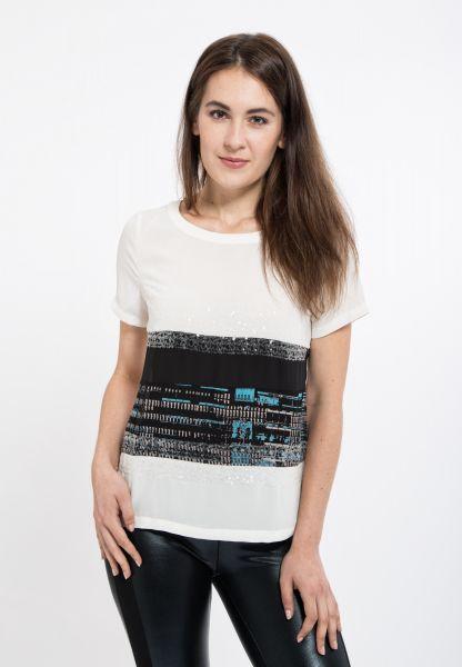 MEXX Leichtes T-Shirt mit dekorativer Verzierung