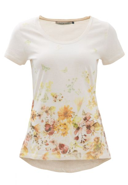 WAY OF GLORY  Shirt mit Flower- Butterfly Print